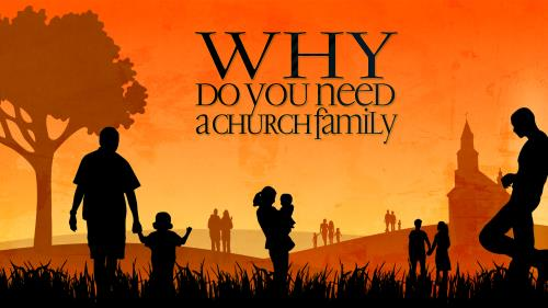 Church Family PowerPoint Template 1