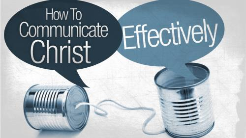 Communicate  Christ PowerPoint Template 1
