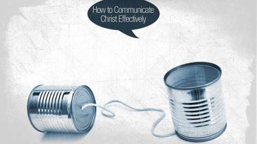 Communicate  Christ PowerPoint Template 3