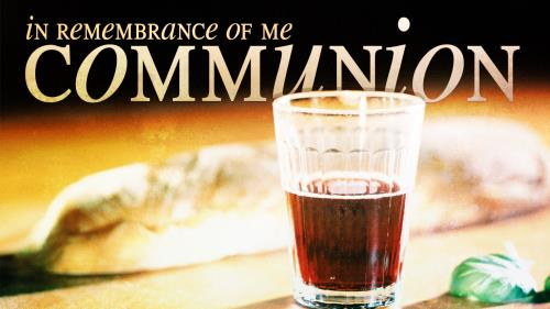 Communion 3 PowerPoint Template 1
