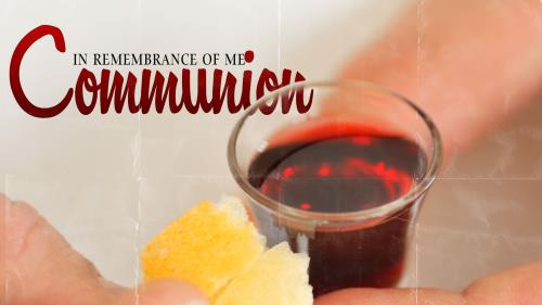 Communion 4 PowerPoint Template 1