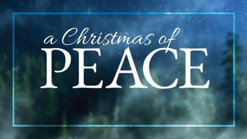 Christmas of Peace PowerPoint Template 1