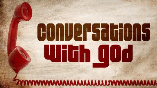 Conversations with God PowerPoint Template