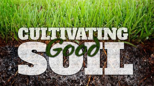 Cultivating  Good  Soil PowerPoint Template 1