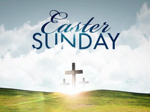 Church Powerpoint Template: Easter Hillside - Sermoncentral.Com