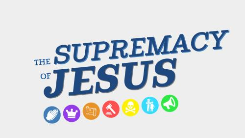 Colossians - Supremacy of Jesus PowerPoint Template 1