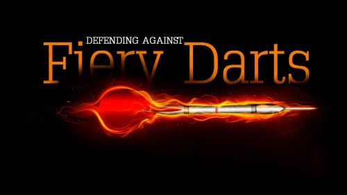 Defending  Against  Fiery  Darts PowerPoint Template 1