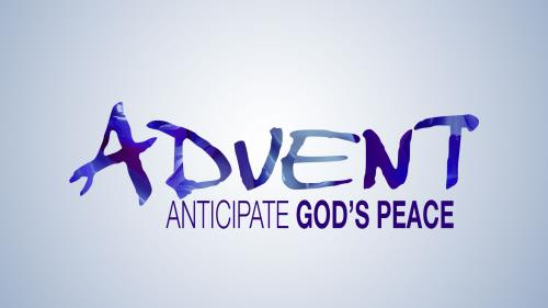 Advent Modern - Peace PowerPoint Template 1