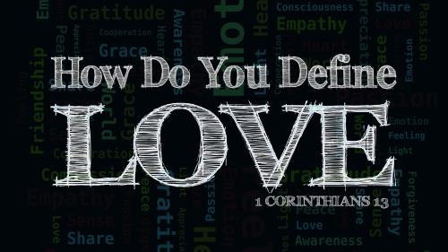 Defining  Love PowerPoint Template 1