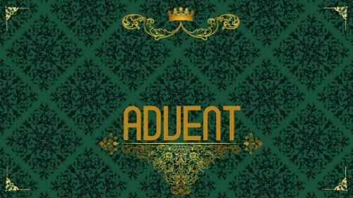 Advent Royal - Love PowerPoint Template 2