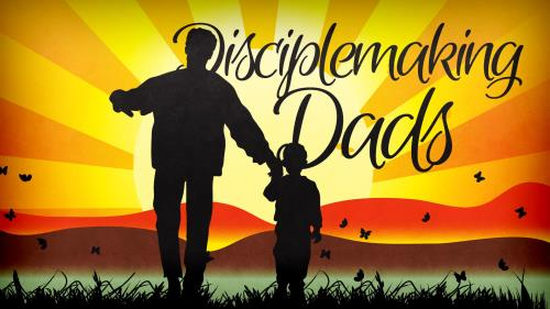 Disciplemaking  Dads PowerPoint Template 1