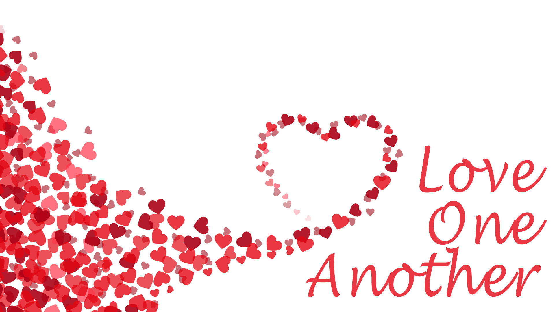 Love One Another PowerPoint Template 1