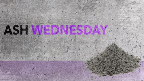 Ash Wednesday PowerPoint Template