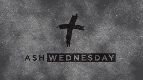 Ash Wednesday Gray PowerPoint Template
