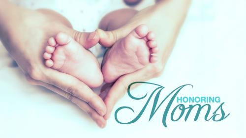 Honoring Moms PowerPoint Template 1