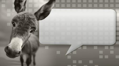 church powerpoint template donkey talk sermoncentral com