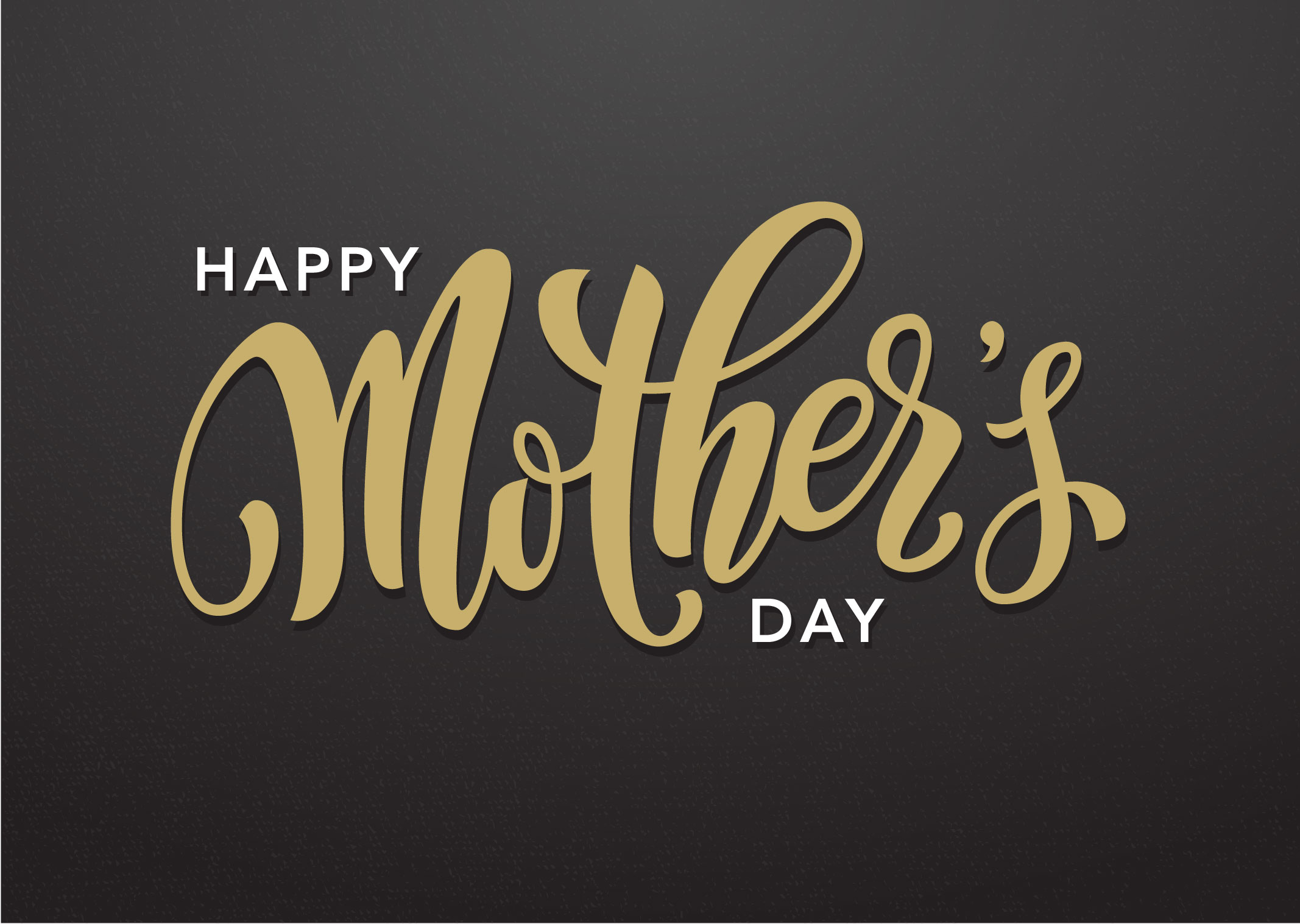 Church PowerPoint Template: Mother\'s Day Gold - SermonCentral.com