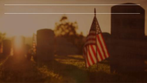 Memorial Day - Remembering The Sacrifice PowerPoint Template 5