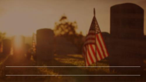 Memorial Day - Remembering The Sacrifice PowerPoint Template 7