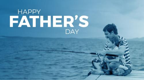 Happy Fathers Day PowerPoint Template 1