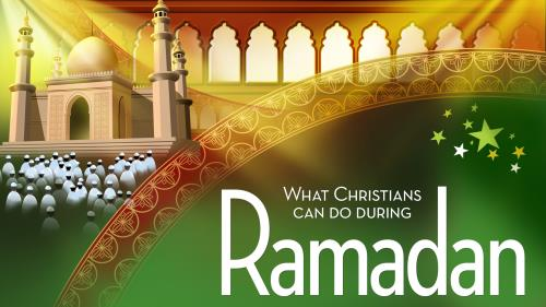 During  Ramadan PowerPoint Template 1