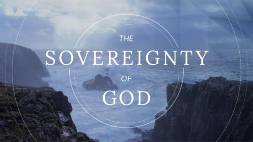 The Sovereignty of God PowerPoint Template 1