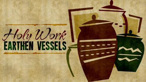 Earthen  Vessels PowerPoint Template 1
