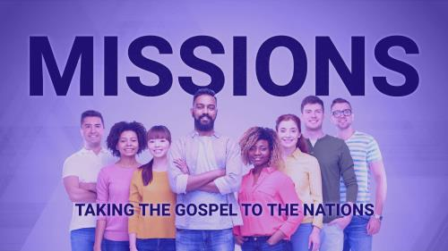 Missions | Taking the Gospel to the Nations PowerPoint Template 1