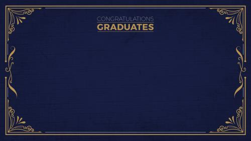 Graduation (Congrats) PowerPoint Template 2