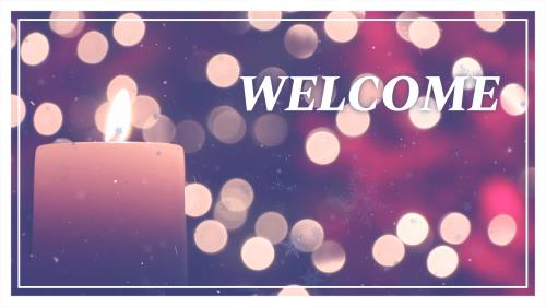 Advent Candle PowerPoint Template 2