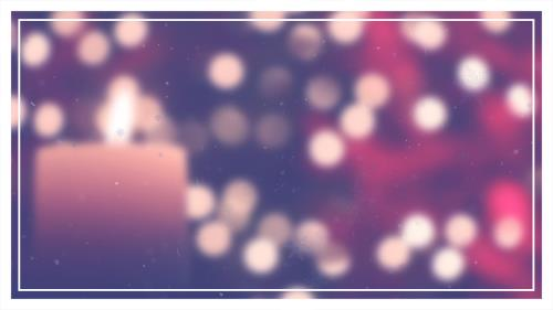 Advent Candle PowerPoint Template 7