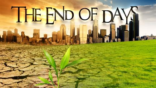 End of  Days PowerPoint Template 1
