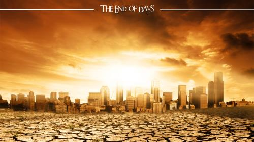 church powerpoint template  end of days