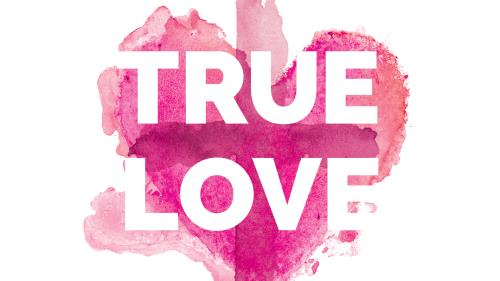True Love PowerPoint Template 1
