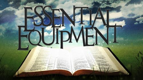 Church Powerpoint Template Essential Equipment Bible
