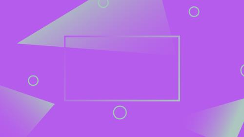 Abstract Purple PowerPoint Template 4