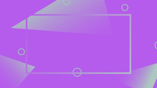 Abstract Purple PowerPoint Template 5