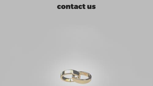 Marriage Rings PowerPoint Template 6