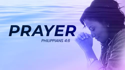 Calming Prayer PowerPoint Template 1