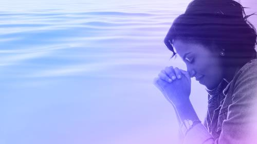 Calming Prayer PowerPoint Template