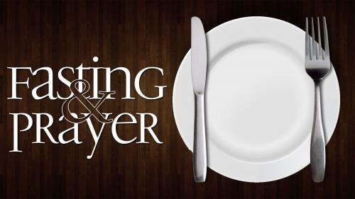 Fasting and Prayer PowerPoint Template 1