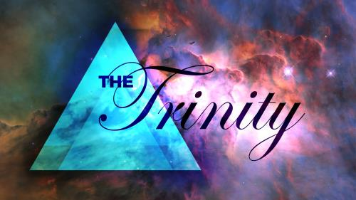 Trinity Cosmos PowerPoint Template 1