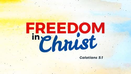 Freedom In Christ PowerPoint Template