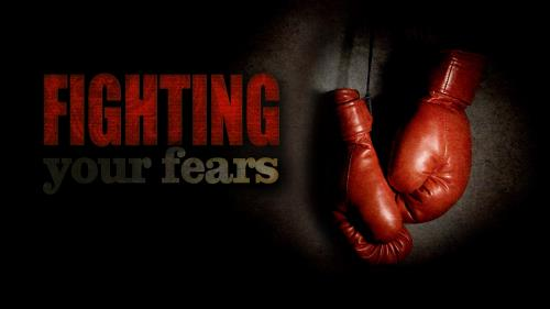 Fighting  Your  Fears PowerPoint Template 1
