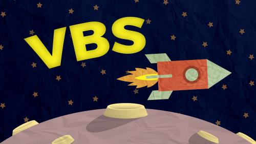 Space VBS PowerPoint Template 2