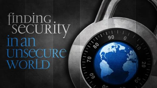 Finding  Security PowerPoint Template 1