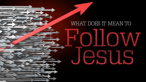 Follow Jesus PowerPoint Template 1