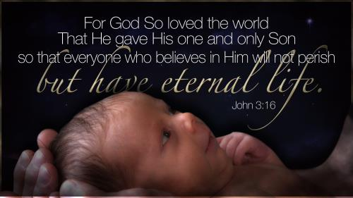 For God So Loved the World PowerPoint Template 1