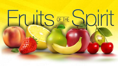 Fruits of the Spirit PowerPoint Template 1