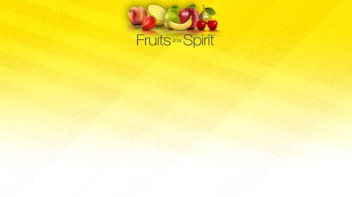 Fruits of the Spirit PowerPoint Template 3